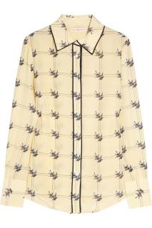 Tory Burch Sparrow Print Shirt