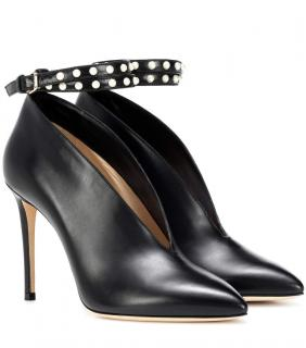 Jimmy Choo Black Lark 100 Vamp Pumps