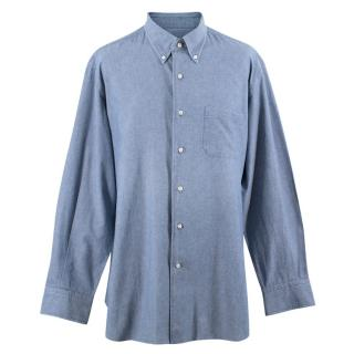 Orian Blue Long Sleeve Shirt