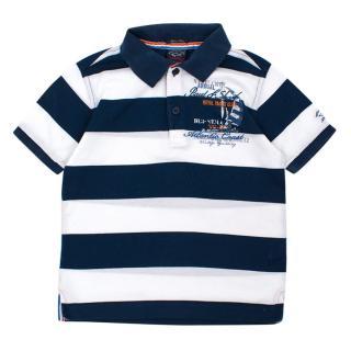 Paul & Shark Boy's Striped Polo Shirt