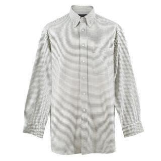 Labrador Men's White Check Shirt