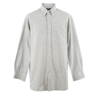 Labrador Men's White Check Shirt
