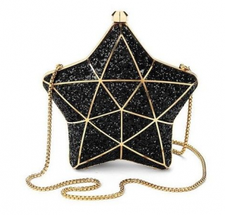 Aspinal The Star Clutch Sequin Bag