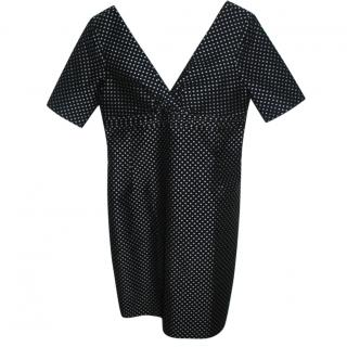 Paul & Joe blue polkadot dress