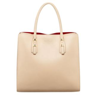 Salvatore Ferragamo beige whitney bag