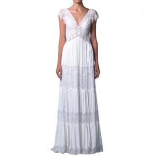 Lihi Hod Lace Paneled Wedding Dress