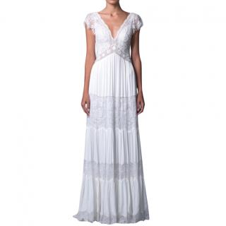 Lihi Hod Lace Paneled Wedding Dress