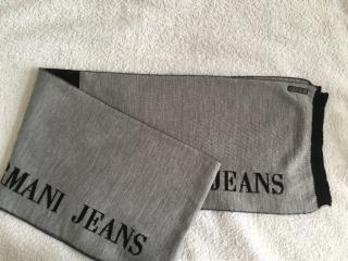 Armani Jeans Men's Wool Scarf