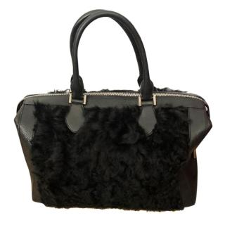 Micheal Kors Shearling Tote Bag