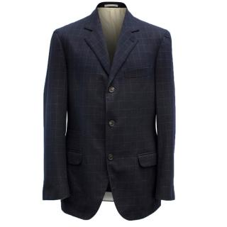 Brunello Cucinelli Wool & Cashmere Blend Blazer