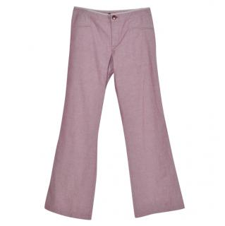 Marc by Marc Jacobs Straight Leg Trousers