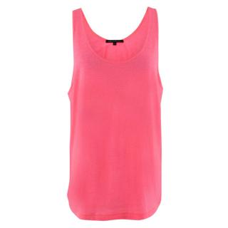 Christopher Kane Neon Pink Vest Top