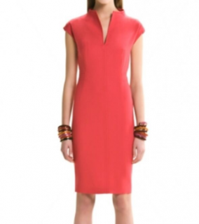 Max Mara Fitted Cap Sleeve Dress
