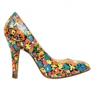 Marc Jacobs Flower Print Pumps