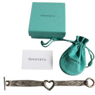 Tiffany Multi Chain Hear Bracelet