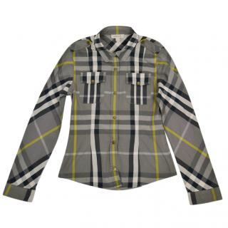 Burberry Boy's Printed Shirt