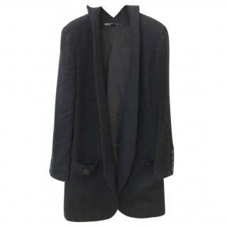 Theskeyen's Theory black linen blazer