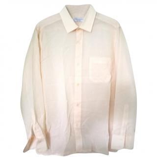 Yves Saint Laurent Yellow Cotton Shirt