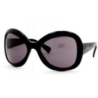 Giorgio Armani black butterfly sunglasses