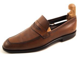 Salvatore Ferragamo men's penny loafers