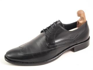 Navyboot men's black oxford brogues
