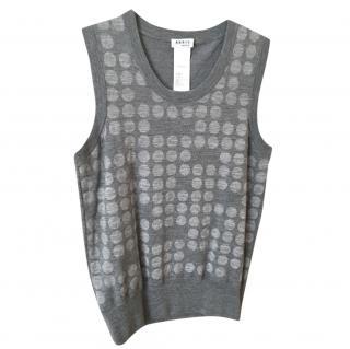 Akris knit wool vest