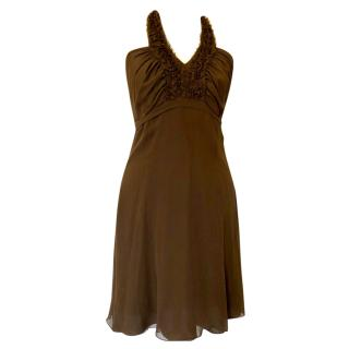 Valentino Chiffon Mini Dress