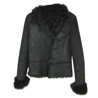 Joseph Lambskin Shearling Jacket