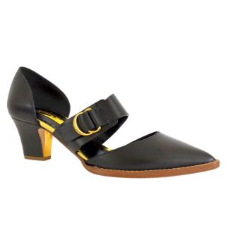Rupert Sanderson Eland Black Calf Leather Shoes