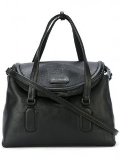 Marc by Marc Jacobs silicone valley black textured leather tote