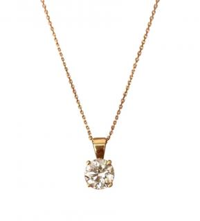 Beautiful diamond necklace with EGL report