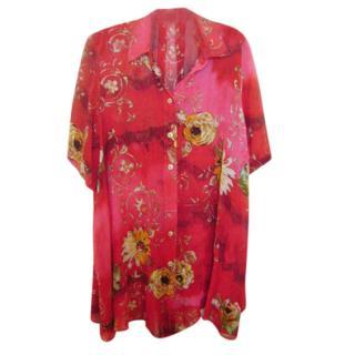 Harrods Floral Oversize Shirt