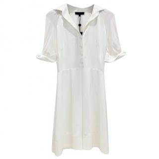 Alessandro De Benedetti Cream Tennis Dress