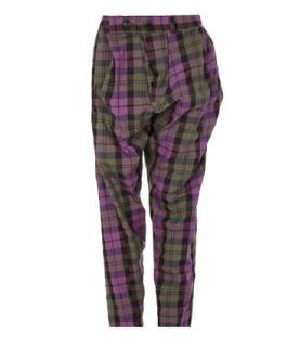 Vivienne Westwood Pink Tartan Alcoholic Trousers
