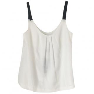 Emporia Armani Jeans White Cami Top