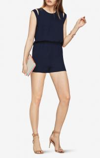 BCBG Max Azria Cold Shoulder Romper