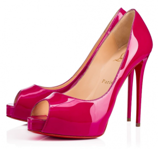 Christian Louboutin New Very Prive Ultra Rose 120mm Pumps
