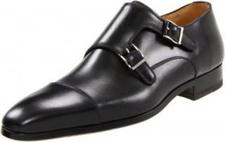 Magnanni 'Benito' Double Monk Strap Slip-On Loafers