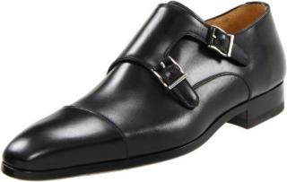 Magnanni 'Benito' Double Monk Strap Slip-On Loafers