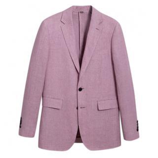 Burberry Men's Soho Fit Linen Tailored Jacket