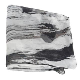 Yohji Yamamoto Discord Silk Scarf