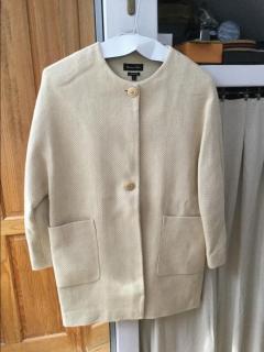 Massimo Dutti Linen Coat