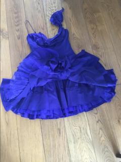 Karen Millen royal blue dress