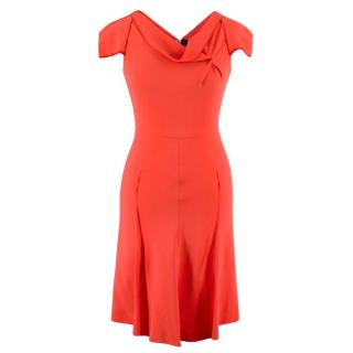 Roland Mouret Coral Zip-up Mini Dress