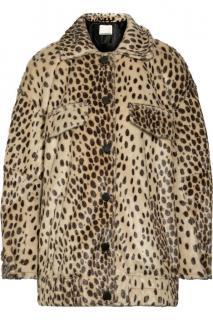By Malene Birger Leopard Print Tidara Coat
