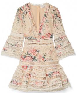 Zimmerman Resort '18 Broderie Anglaise Laelia Mini Dress