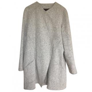 Kenzo Wool Asymmetric Coat