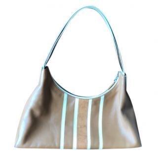 Tod's Striped Shoulder Bag