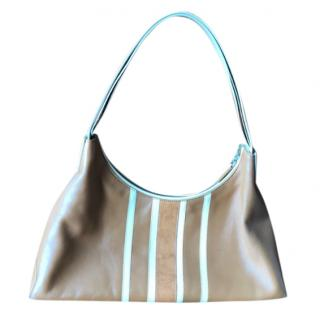 Tod's Striped Shoulder Bag