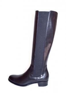 Rupert Sanderson Black Calf Leather Knee Boots